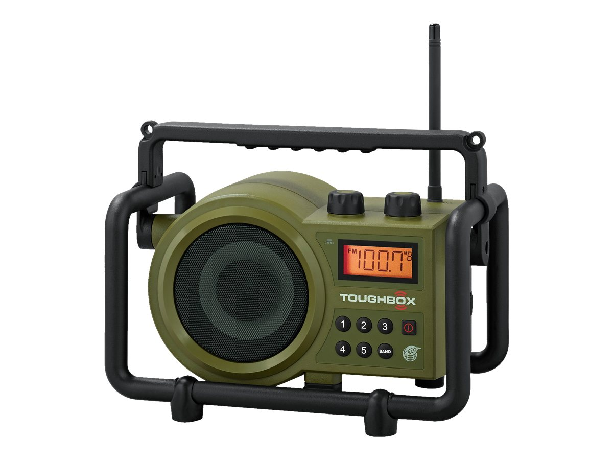 Sangean Toughbox Ultra Rugged Radio, TB-100, 14416681, Stereo Components
