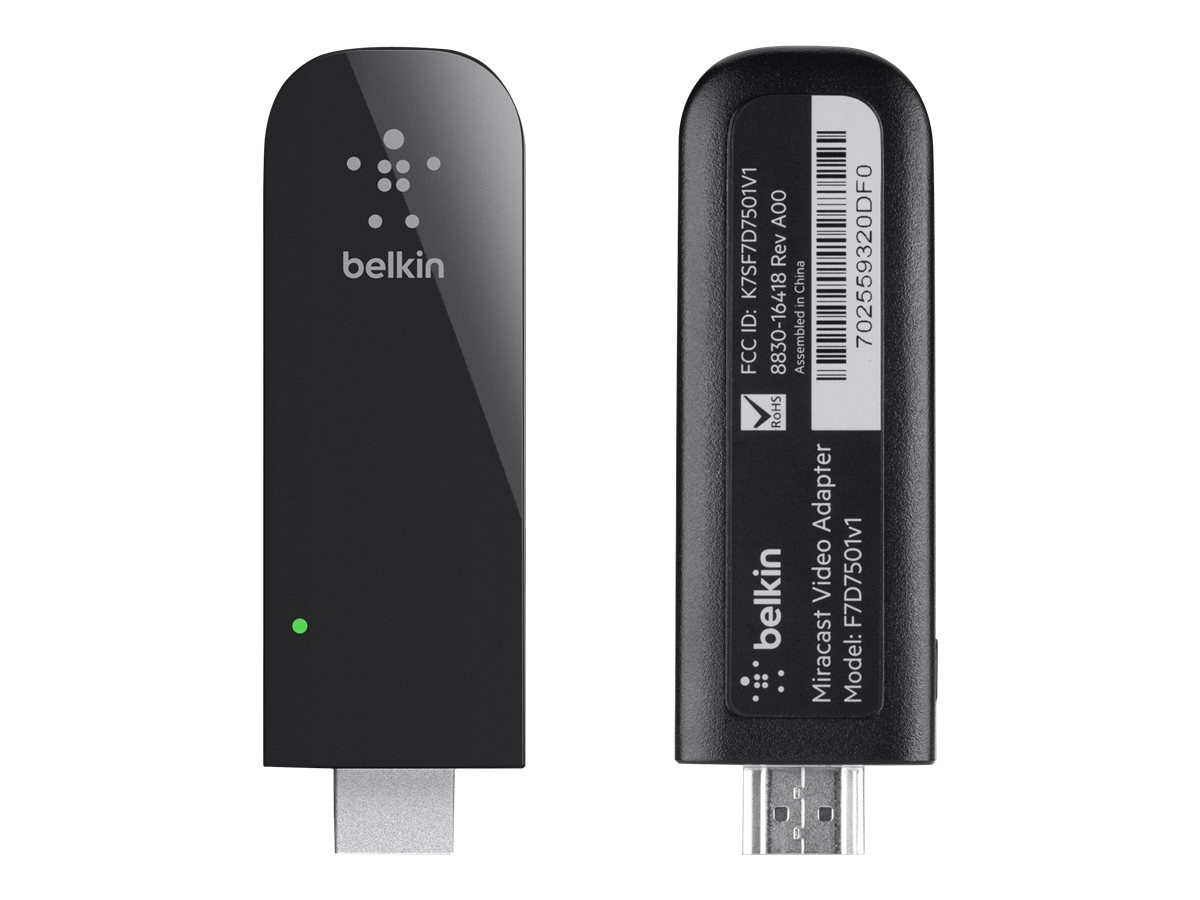 Belkin Miracast Video Adapter, F7D7501