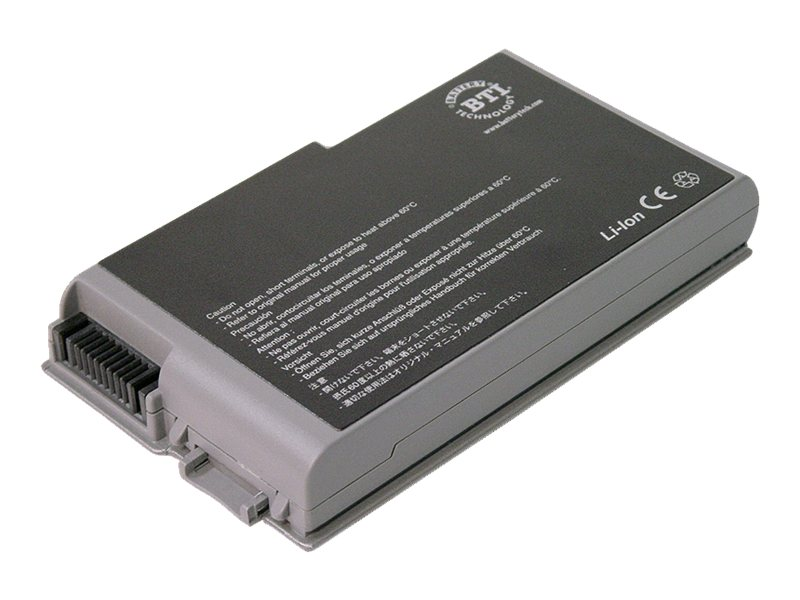 BTI 6-Cell Li-Ion Battery for Dell Latitude D500 D505, 312-0408-BTI, 15135741, Batteries - Notebook