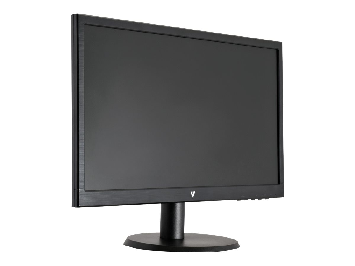 V7 21.5 L215DS-2N Full HD LED-LCD Monitor, Black, L215DS-2N
