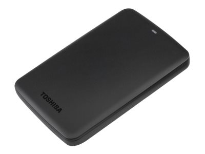 Toshiba 1TB Canvio Basics USB 3.0 Portable Hard Drive - Black, HDTB310XK3AA, 18105767, Hard Drives - External