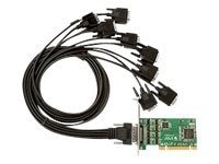 Siig 8-port Industrial RS-232 Uinversal PCI Adapter Card w  15KV
