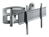 Peerless PLA Series Articulating Wall Arm for 37-95 Displays, Silver, PLAV60-UNL(P)-S, 7086871, Stands & Mounts - AV