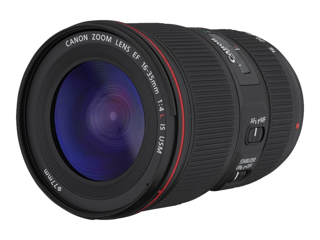 Canon EF 16-35mm f 4L IS USM Lens, 9518B002