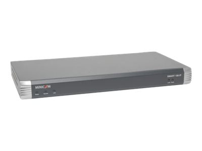 Tripp Lite Minicom Smart 108 IP 8-Port, Remote Access Cat5 KVM Switch for Rack Environments, 0SU70032, 14242473, KVM Switches