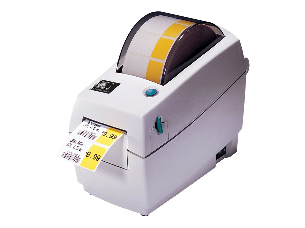 Zebra 2824+ DT 203dpi EPL ZPL USB Serial Printer, 282P-201110-000, 10544221, Printers - Bar Code
