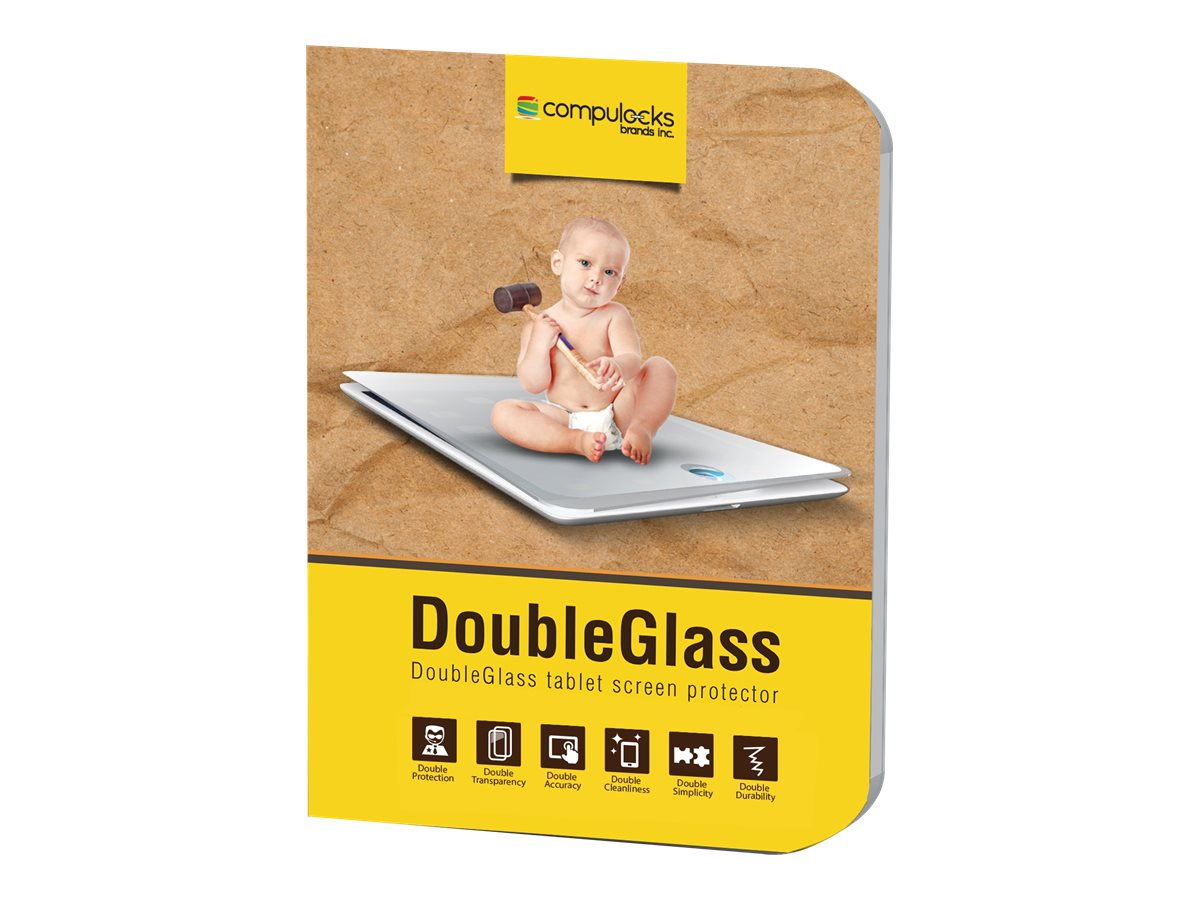 Compulocks Double Glass Protector for Galaxy Tab 4 10.1, DGSGT400, 23307662, Protective & Dust Covers