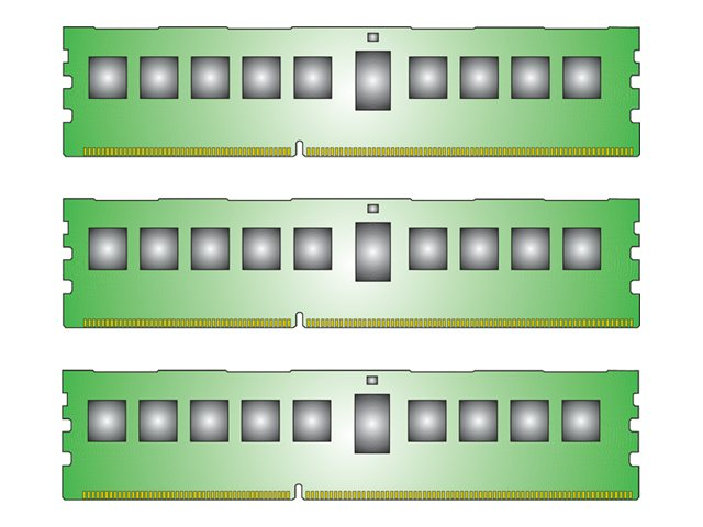 Kingston 48GB PC3-10600 240-pin DDR3 SDRAM DIMM Kit for Select Proliant, Workstation Models