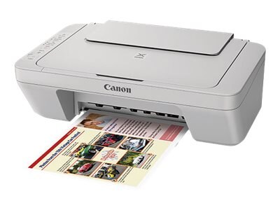 Canon PIXMA MG3020 Wireless Inkjet All-in-One Printer - Gray, 1346C042