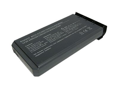 Total Micro 4000mAh 8-Cell Battery for Dell, 3120326-TM, 15608158, Batteries - Notebook