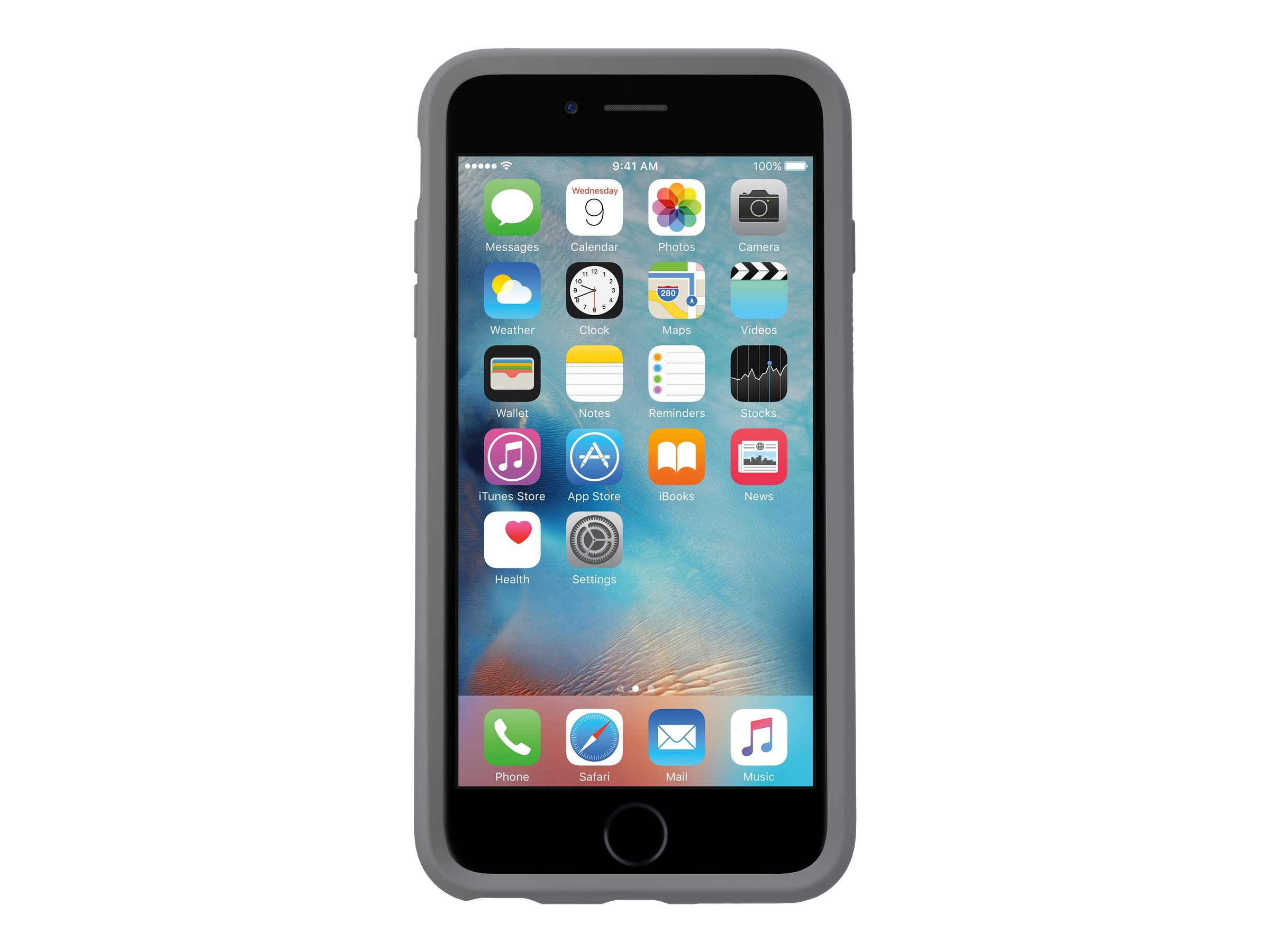 OtterBox Clear Symmetry Case for iPhone 6 6S, Clear