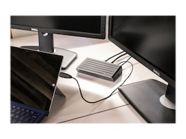 Targus 2K Dual DisplayPort USB 3.0 Dock, DOCK150USZ, 30881961, Docking Stations & Port Replicators