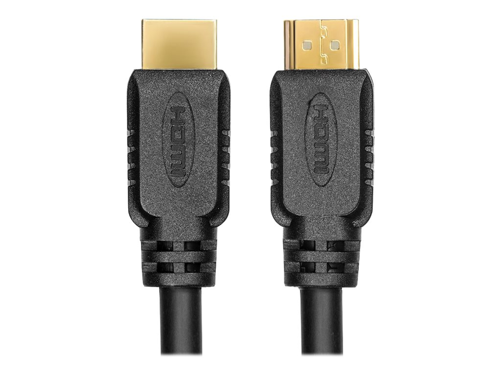 RocStorage HDMI to HDMI M M Cable with Ethernet, Black, 2m