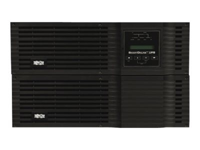 Tripp Lite 6000VA UPS Smart Online Rack Tower PureSine High Voltage 6kVA 200-240V Hardwired, SU6000RT3UHV
