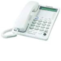 Panasonic 2-Line Integrated Telephone System with 3-Way Conferencing, KX-TS208W, 5377616, Telephones - Consumer