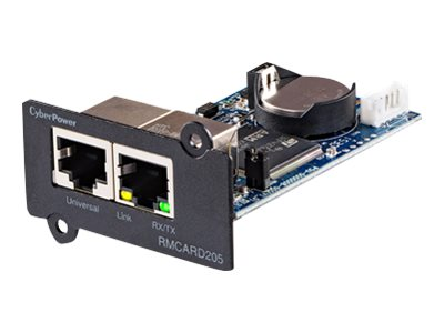 CyberPower UPS, ATS PDU Remote Management Card Web SNMP NMS RJ-45, TAA