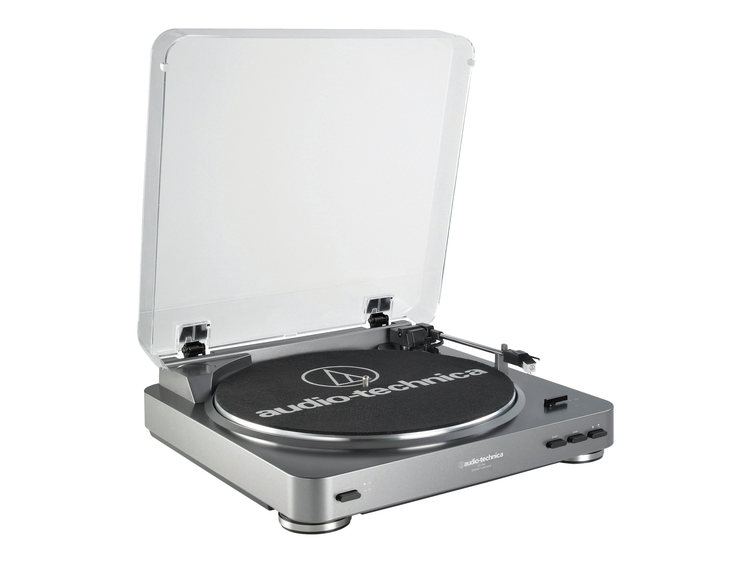 Audio-Technica AT-LP60 Fully Automatic Belt-Drive Turntable, at-lp60, 10733857, Stereo Components