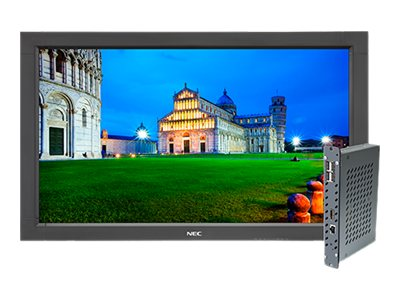NEC 32 V323-PC Full HD LED-LCD Monitor, Black with Integrated Computer