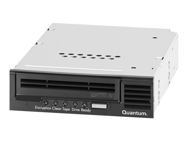 Quantum LTO-5 HH SAS 6Gb s Model C 5.25 Internal Tape Drive - Black w  SAS HBA