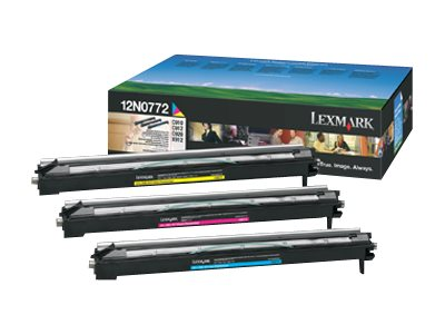 Lexmark C910 Color Photodeveloper Kit, 12N0772, 264054, Printer Accessories