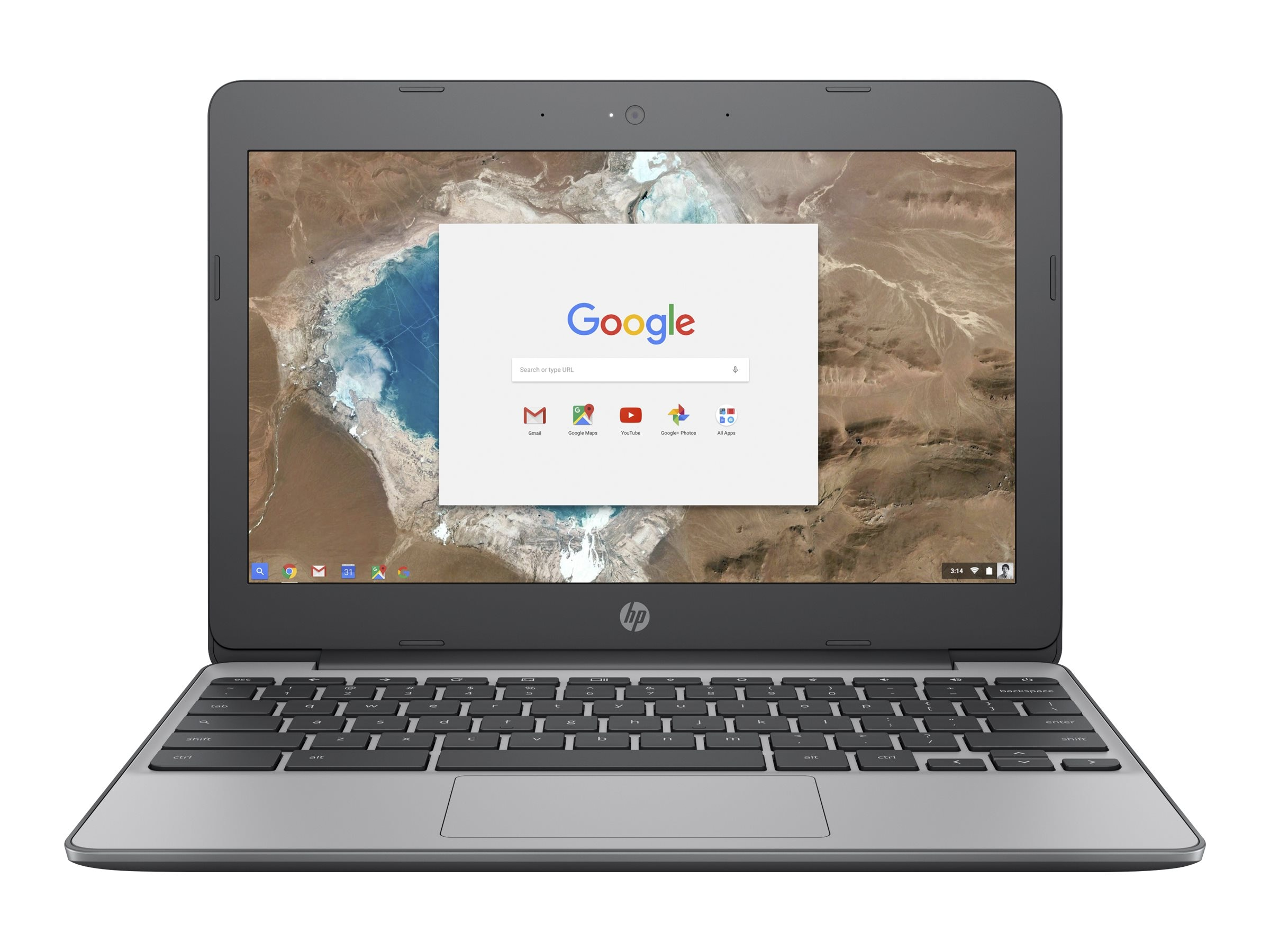 HP Chromebook Celeron N3060 4GB 16GB 11.6 HD MT Chrome OS, X7T65UA#ABA
