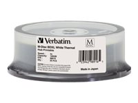 Verbatim 4x 100GB M-DISC BDXL White Thermal Printable Disc