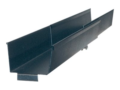 APC Horizontal Cable Organizer Side Channel, 10in to 18in Adjustment, AR8016ABLK