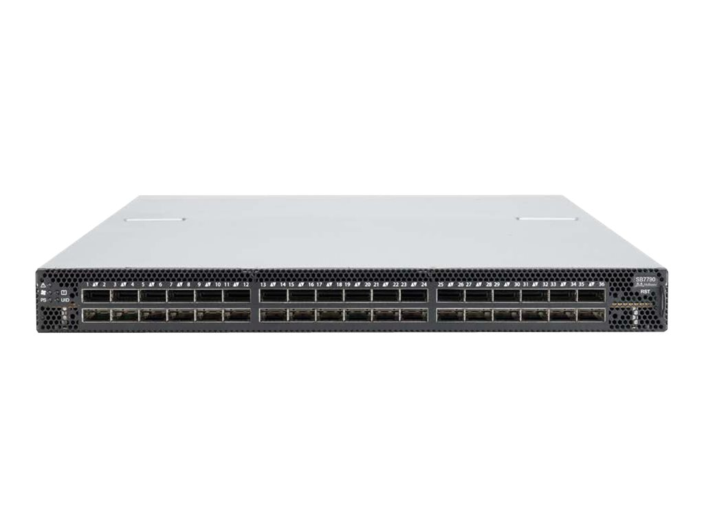 HPE Mellanox IB EDR V2 36-Port Managed Switch, 834978-B22