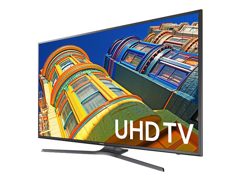 Samsung 50 KU6300 4K Ultra HD LED-LCD TV, Black, UN50KU6300FXZA, 31957622, Televisions - LED-LCD Consumer