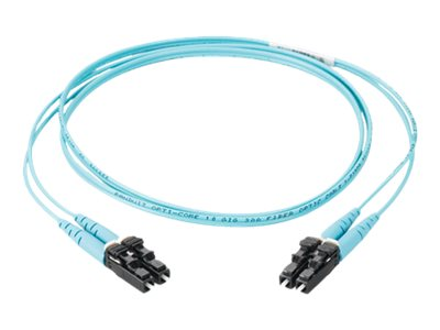 Panduit SC to SC OM3 Fiber Optic Cable, 2m, FX23RSNSNSNM002