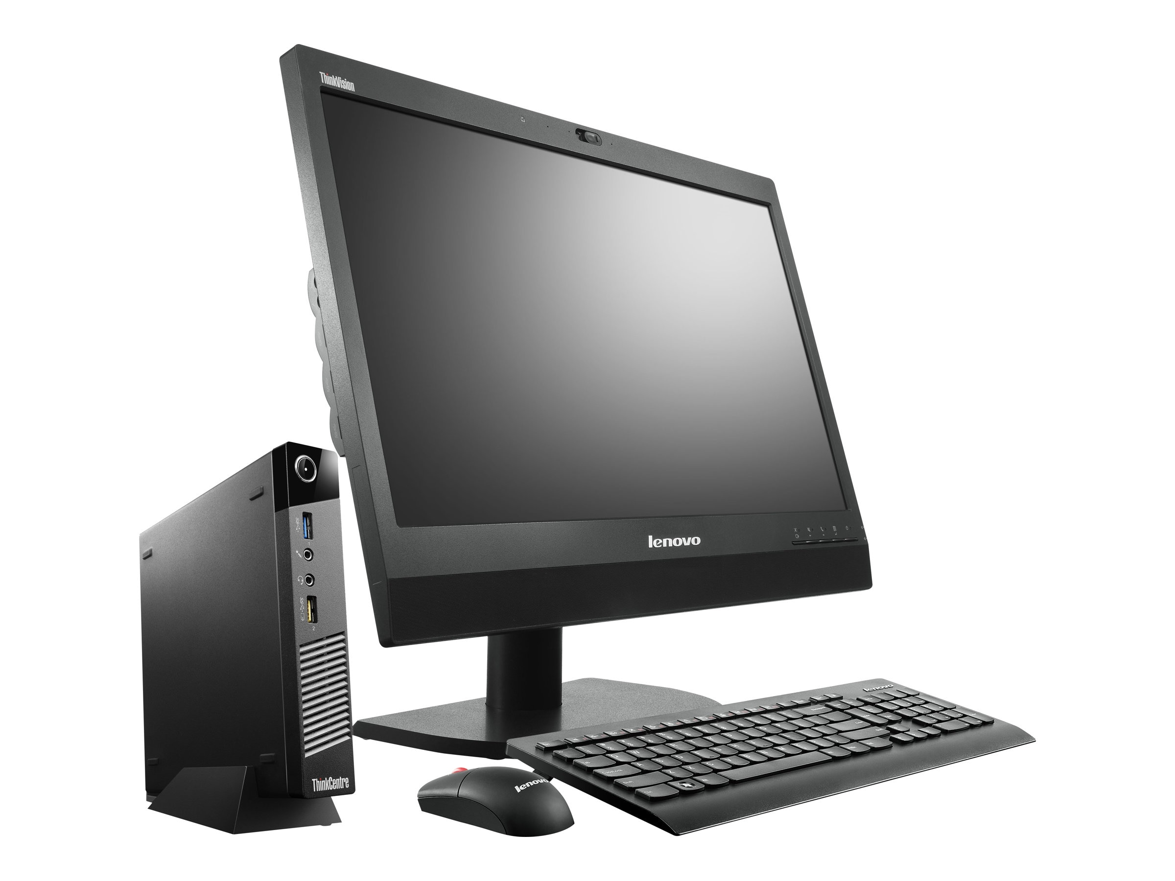 Lenovo TopSeller ThinkCentre M93p 2.2GHz Core i7 4GB RAM 256GB hard drive, 10AB004TUS