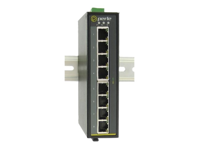 Perle IDS-108F-M1SC2U 8-Port 100TX 1-Port   SC MM UP 2KM DIN RAIL SW, 07010420, 16925278, Network Switches