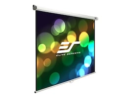 Elite Manual Series Projection Screen, MaxWhite, 16:10, 100 with White Case, M100X, 17684832, Projector Screens