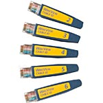Fluke WireView Cable IDs #2-6, WIREVIEW 2-6, 5406894, Network Test Equipment