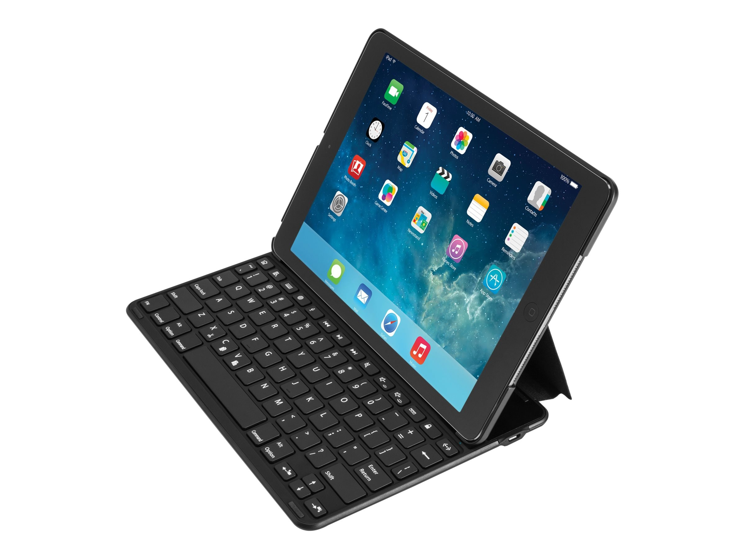 Kensington Keyfolio Thin X2 for iPad Air, Black, K97233US, 17381541, Keyboards & Keypads