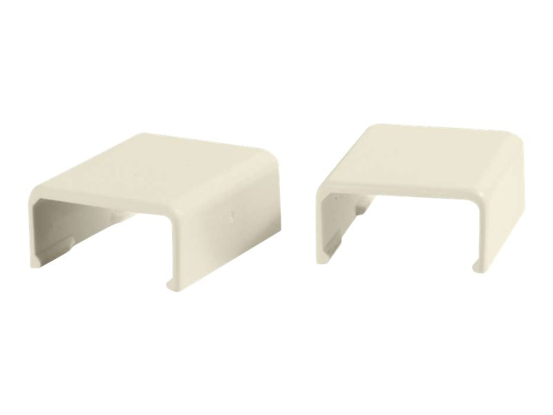 C2G Wiremold Uniduct 2700 Cover Clip, Ivory, 2-Pack