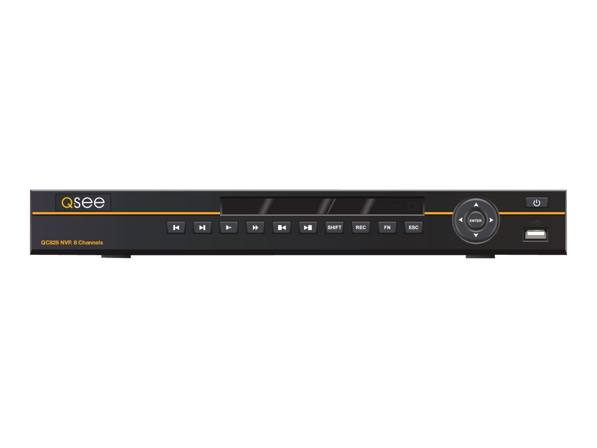 Digital Peripheral Solutions 8-Channel 3MP NVR, 3TB HDD, QC838-3