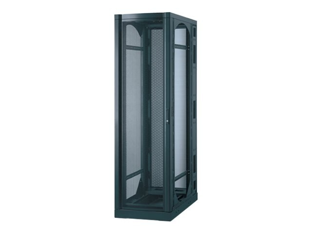 APC NetShelter VX Seismic 42U Enclosure without Sides, Black, AR2145BLK, 432121, Racks & Cabinets