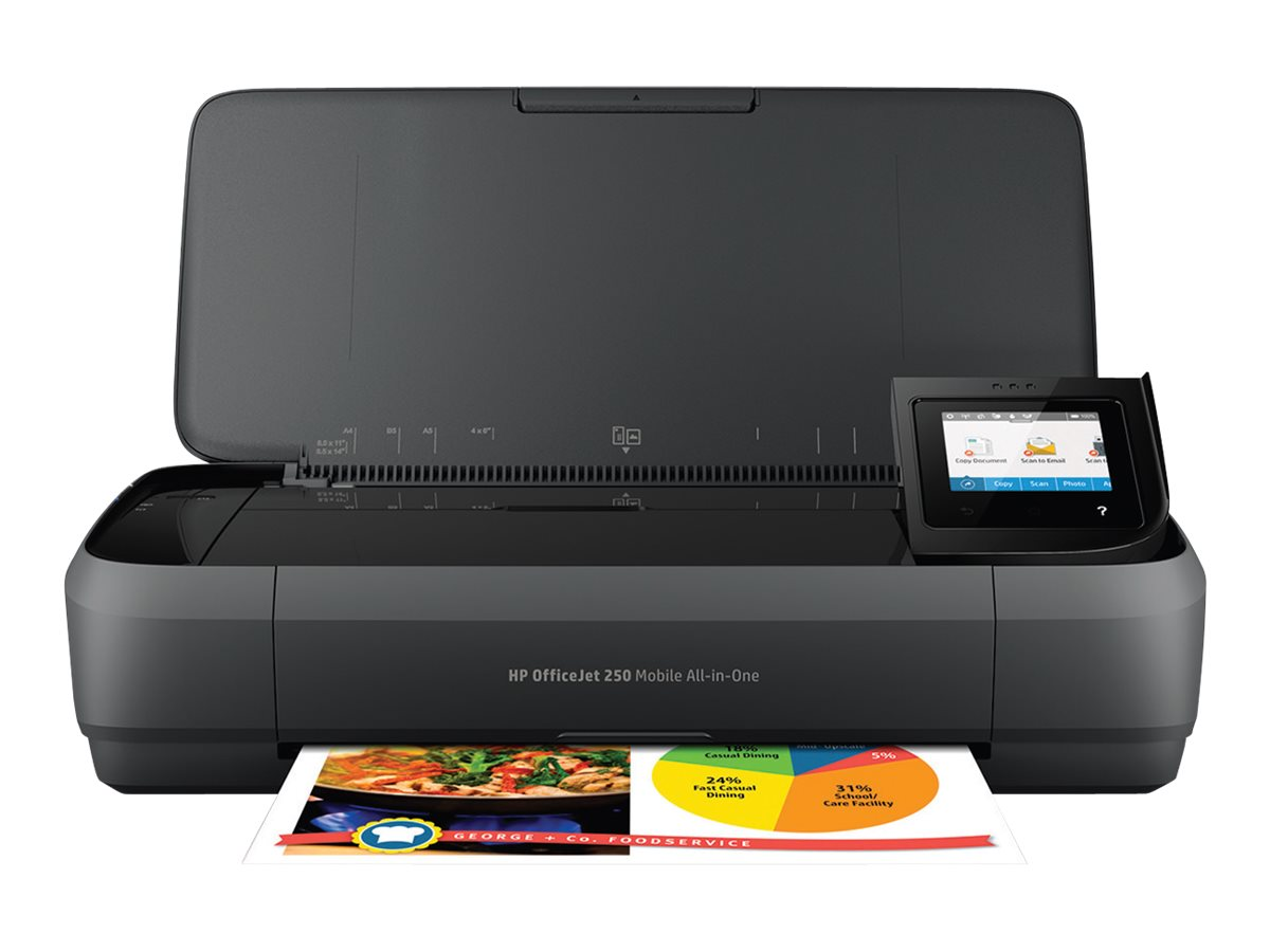 HP Officejet 250 Mobile All-In-One Printer ($349 - $50 Instant Rebate = $299.95 Exp 12 31 16), CZ992A#B1H