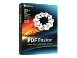 Corel PDF Fusion 1 English Mini-Box, CPDFF1ENMB, 12726255, Software - File Sharing