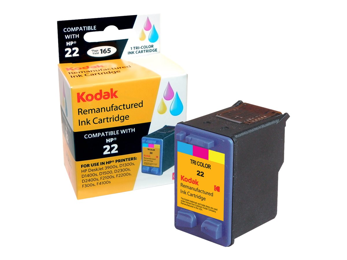 Kodak C9352AN Color Ink Cartridge for HP Deskjet F300, C9352AN-KD