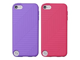 Belkin Flex Case for iPod Touch 5, Volta & Paparazzi Pink (2-pack), F8W142TTC01-2, 32660222, Carrying Cases - iPod