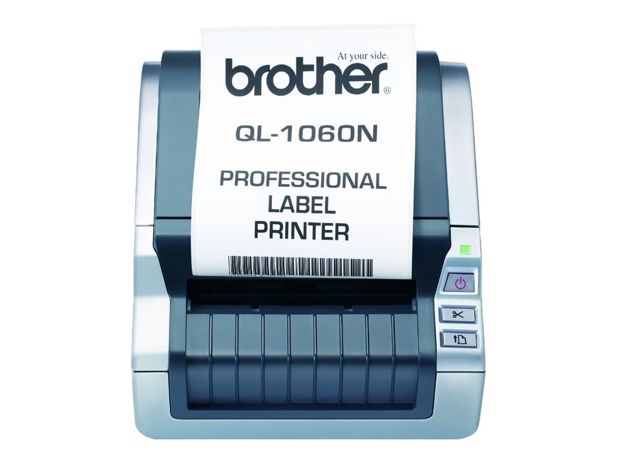 Brother Brother QL-1060N Label Printer, QL-1060N, 8338874, Printers - Label