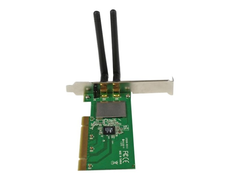 StarTech.com PCI Wireless N Adapter - 300 Mbps PCI 802.11 b g n Network Adapter Card, PCI300WN2X2
