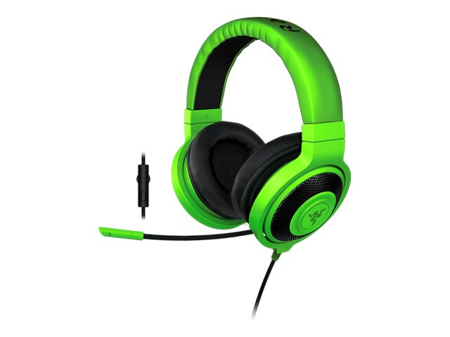 Razer KRAKEN PRO 2015 HEADSET GREEN  ACCS, RZ04-01380200-R3U1, 30855616, Computer Gaming Accessories