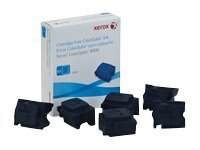 Xerox Cyan Ink Sticks for ColorQube 8900 Series (6-pack), 108R01014, 13781571, Toner and Imaging Components
