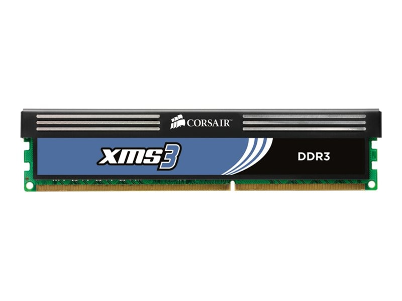 Corsair 4GB PC3-12800 240-pin DDR3 SDRAM UDIMM Kit, CMX4GX3M2A1600C9