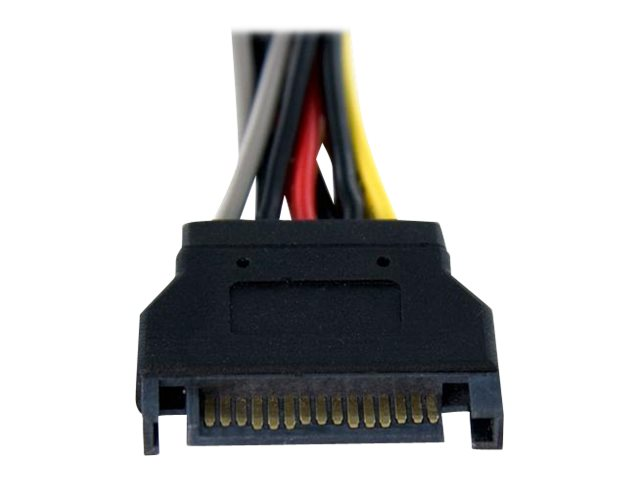 StarTech.com SATA Power Y-Splitter Cable Adapter, 6in