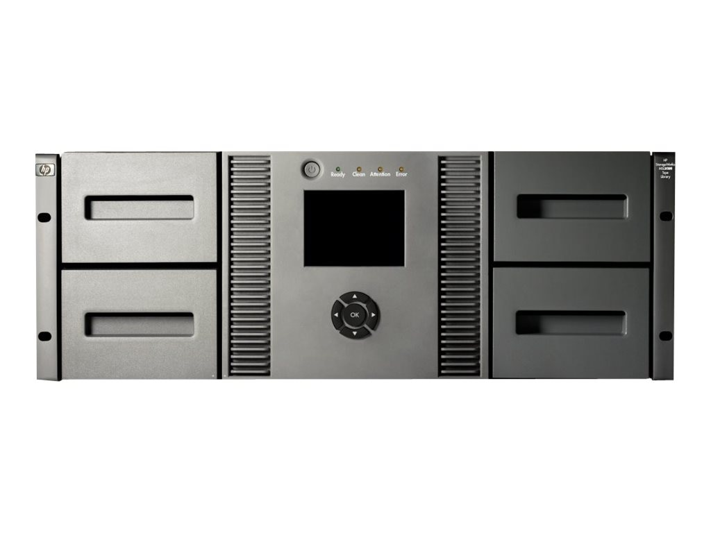 HPE StorageWorks MSL4048 0-Drive, 48 Slot Tape Library, AK381A, 8373101, Tape Automation