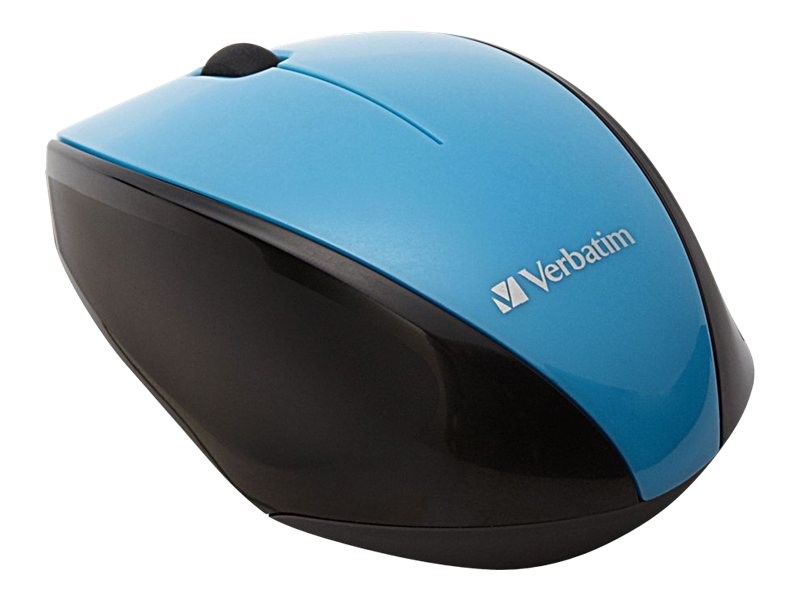 Verbatim Multi-Trac Wireless Optical Blue LED Mouse, Blue, 97993, 16962925, Mice & Cursor Control Devices